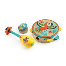 Animambo Wooden Musical Instrument Set