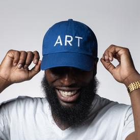 MCA Art Cap BLUE