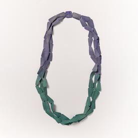 Trapeze Water Necklace - Green and Blue BLUE_GREEN