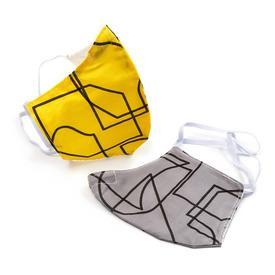 Civilization Geometric Lines Mask Set- Head Loops