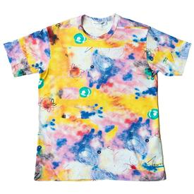 Comme des Garcons SHIRT x Futura Short Sleeve All Over Print - Yellow YELLOW