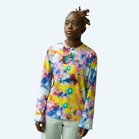 Comme des Garcons SHIRT x Futura - Long Sleeve All Over Print - Yellow