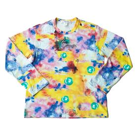 Comme des Garcons SHIRT x Futura - Long Sleeve All Over Print - Yellow YELLOW