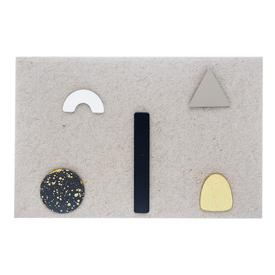 Geometric Earrings Set
