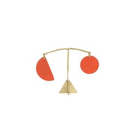 Pendulum Mini Desk Stabile - Tomato Red TOMATO