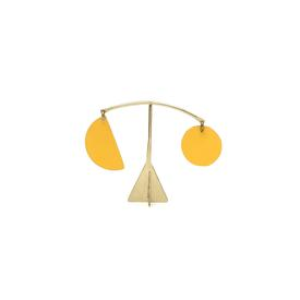 Pendulum Mini Desk Stabile - Yolk Yellow YOLK