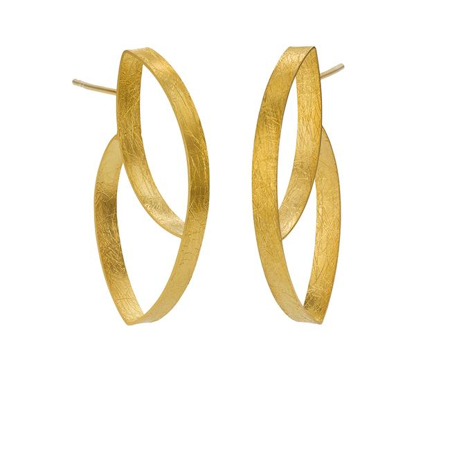 Tulip Earrings - Gold