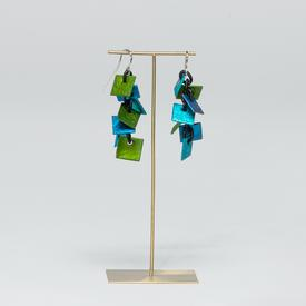 Dangle Square Earrings