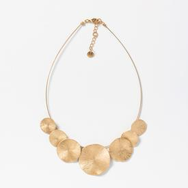 Multi-Circle Necklace - Gold Tone GOLD_PLATE