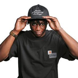 Joshua Vides x MCA Paint Crew Hat - Black