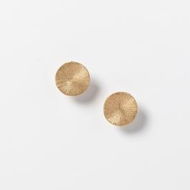 Circle Clip Earrings - Gold Tone GOLD_PLATE