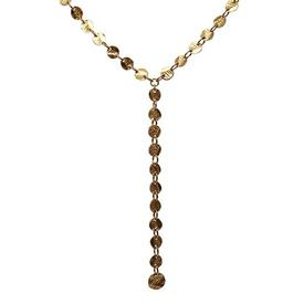 The Reasons Y Necklace GOLD_PLATE