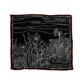 Paint by Numbers Scarf - Black