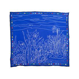 Paint by Numbers Scarf - Blue