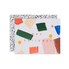 Confetti Happy Holidays Cards