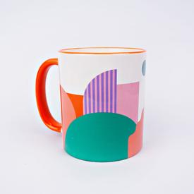 Miami Bookends Mug