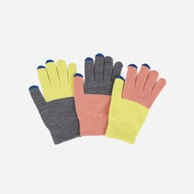Pair and Spare Gloves - Pink Lime