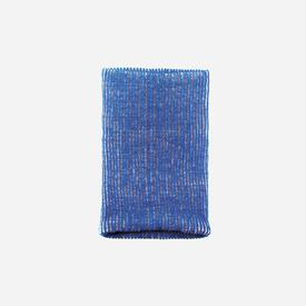 Ribbed Neckwarmer -  Poppy Blue