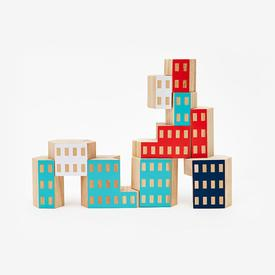 Blockitecture Habitat Wood Toy Set