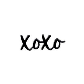 XOXO Pin - Black