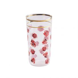 Roses Drinking Glass