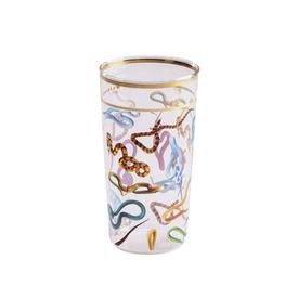 Snakes Drinking Glass