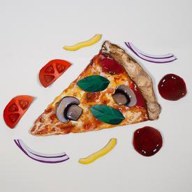 Pizza Pie Magnet Set