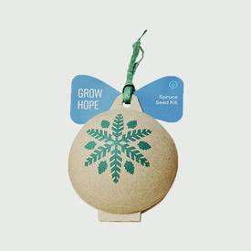 Grow Hope Spruce Ornament Seed Kit