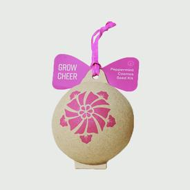 Grow Cheer Peppermint Cosmos Ornament Seed Kit