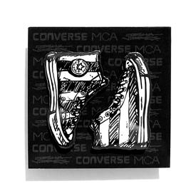 Joshua Vides x MCA x Converse Chuck 70 Shoes Pin