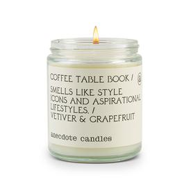 Anecdote Candle Coffee Table Book