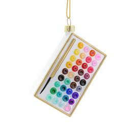 Watercolor Set Ornament