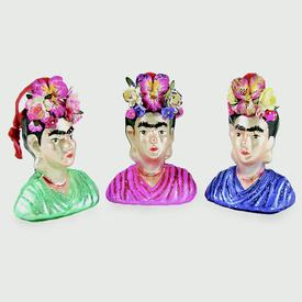 Frida Ornament – Blue