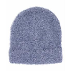 Brushed Furry Hat - Navy NAVY