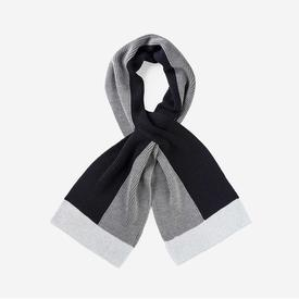 Polder Scarf - Grey and Black BLACK_GREY