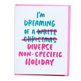Diverse Non-Specific Holiday Greeting Card