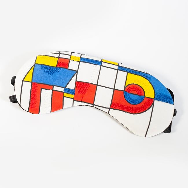 Mondrian Eye Mask