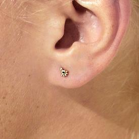 Pompeii Diamond Stud Earring