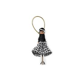 Mini Muse Ornament - Gingham