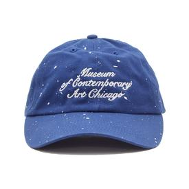 Joshua Vides x MCA Paint Crew Hat - Blue and White
