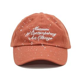Joshua Vides x MCA Paint Crew Hat - Burnt Orange