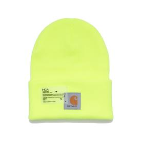 Joshua Vides x MCA Rialto Beanie - Safety Green SAFETY_GREEN
