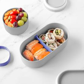Bamboo Bento Lunch Box - Grey