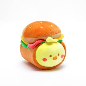 Chickiroll Burger Plush