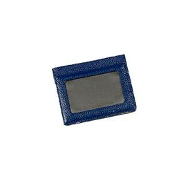 Hand-Painted Cardholder - Navy Gold NAVY_GOLD