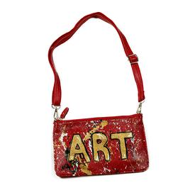 Art Clutch - Red