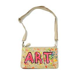 Art Clutch - White