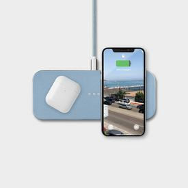 Catch 2 Wireless Charging Station - Pacific Blue