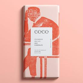 Colombian 40% Milk Chocolate Bar