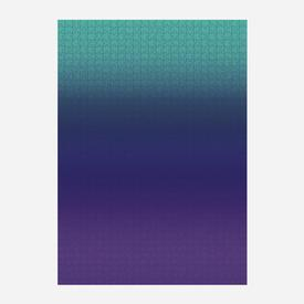 Gradient Puzzle - Teal/Blue/ Purple